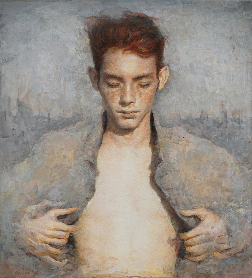 Intimate Figurative Paintings By Julio Reyes 5