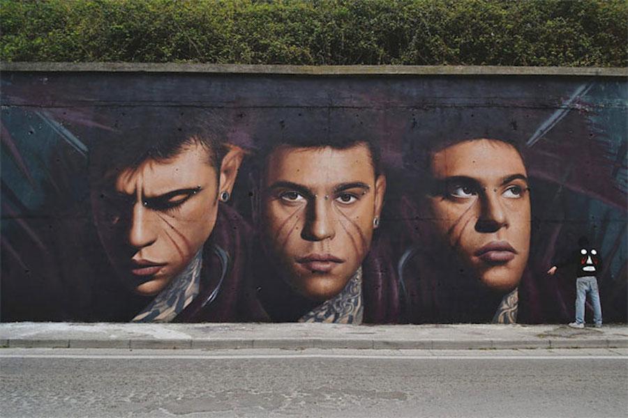 Large Scale Hyper Realistic Portrait Murals By Jorit Agoch 3