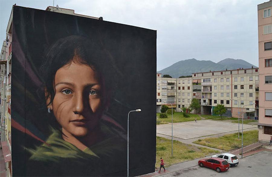 Large Scale Hyper Realistic Portrait Murals By Jorit Agoch 5