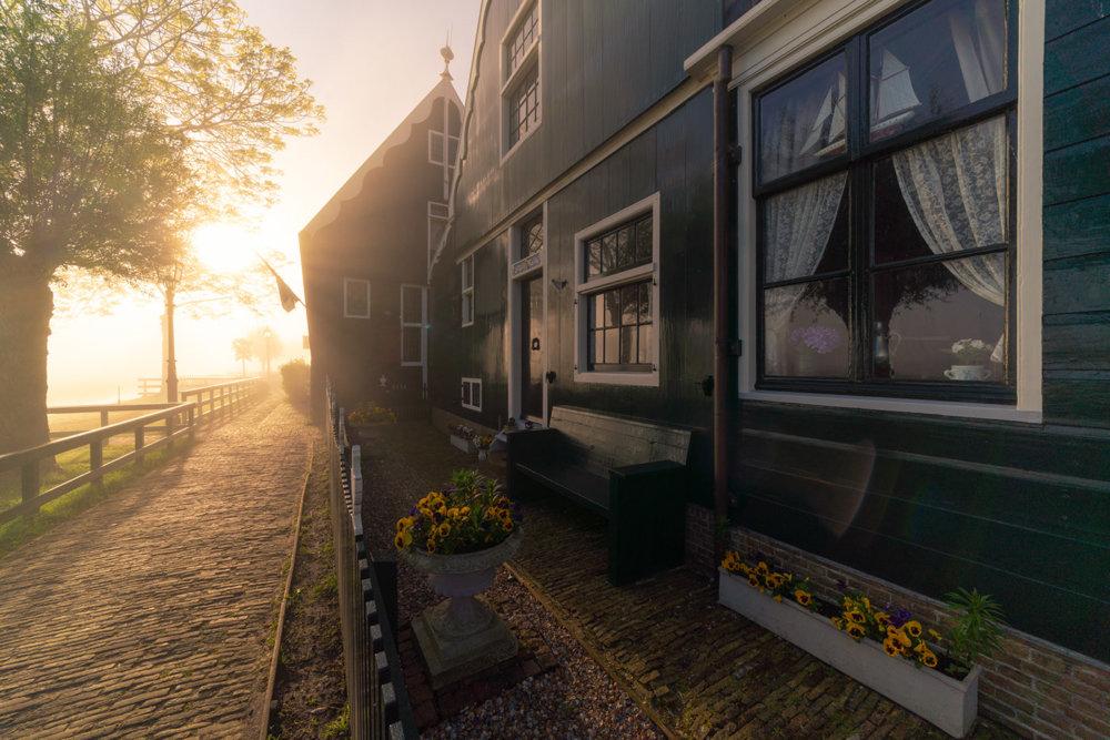 Magic Windmills Enchanting Dutch Landscapes In The Fog By Albert Dros 10