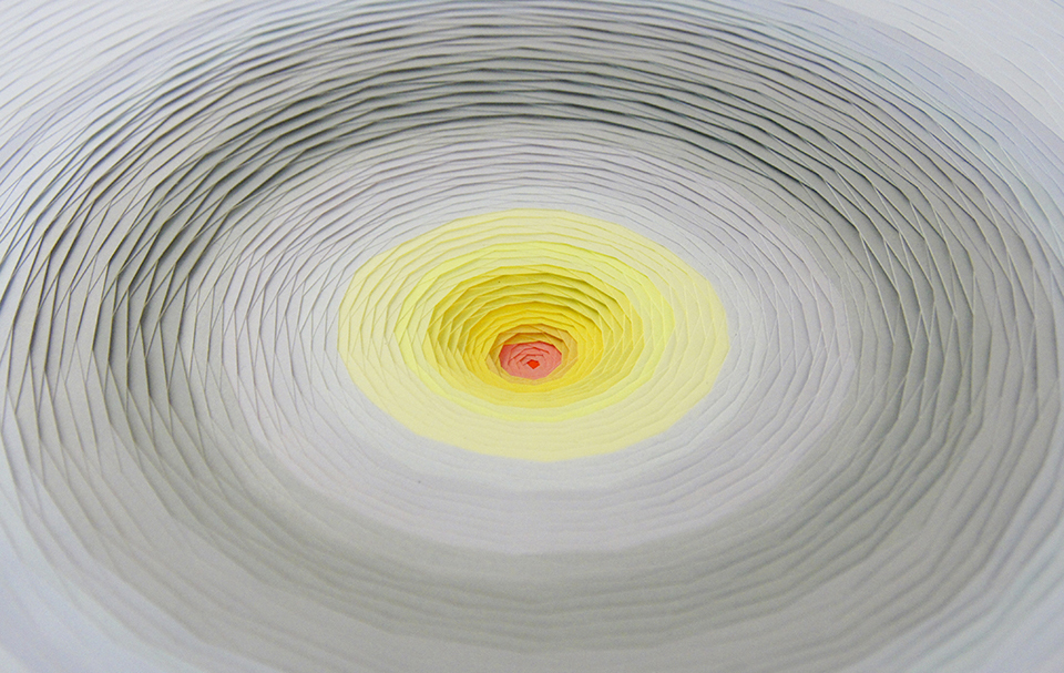 Multicolored 3d Paper Patterns By Maud Vantours 6