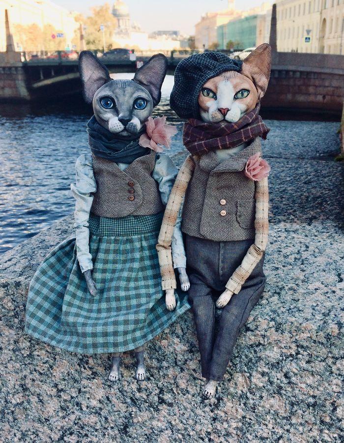 Realistic Dolls Of Sphynx Cats By Elena Alekhina 1