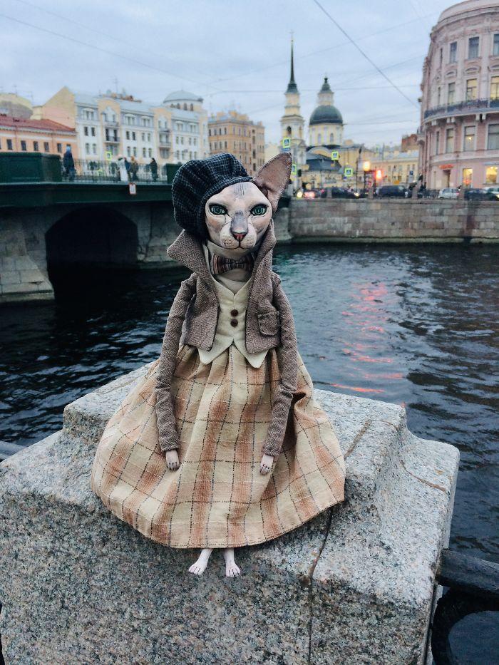 Realistic Dolls Of Sphynx Cats By Elena Alekhina 4