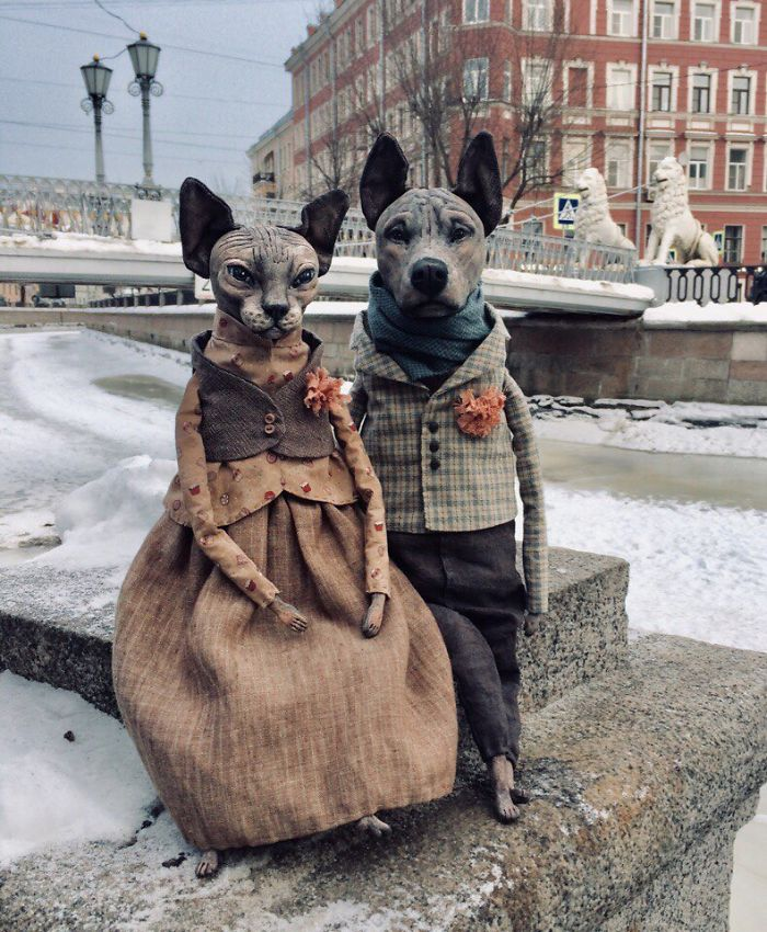 Realistic Dolls Of Sphynx Cats By Elena Alekhina 7