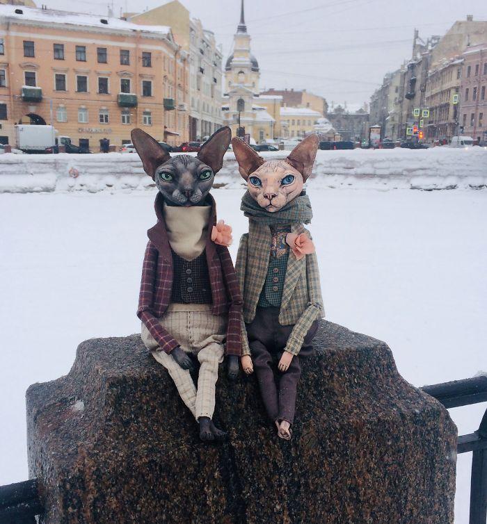 Realistic Dolls Of Sphynx Cats By Elena Alekhina 8
