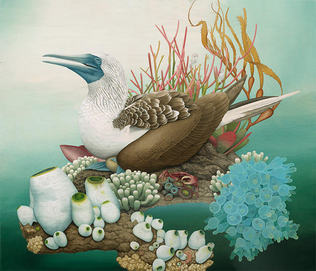 Surreal Wildlife Paintings By Tiffany Bozic 3