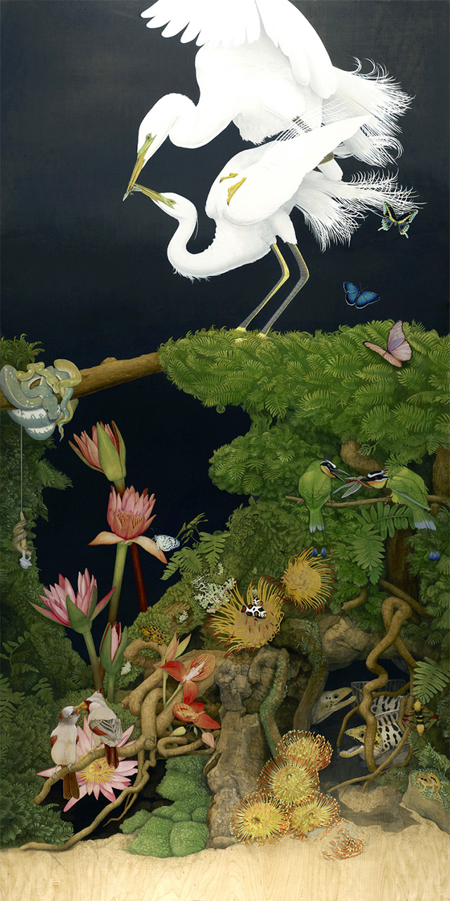 Surreal Wildlife Paintings By Tiffany Bozic 6