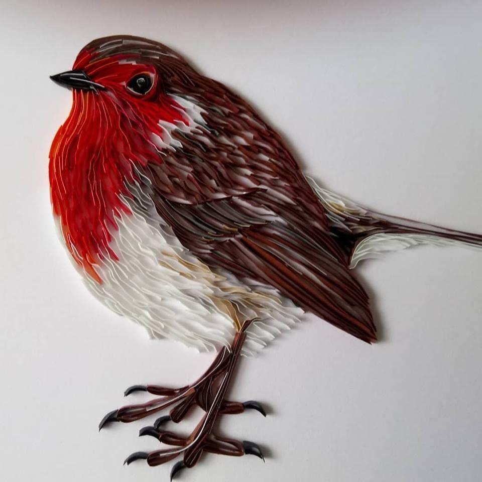 Wonderful Animal Paper Quilling Illustrations By Rebekah Jenkins 1