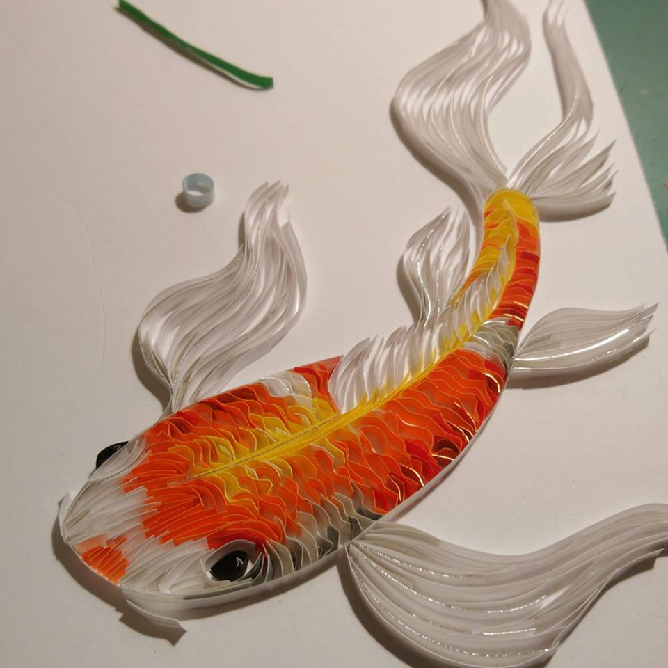 Wonderful Animal Paper Quilling Illustrations By Rebekah Jenkins 5