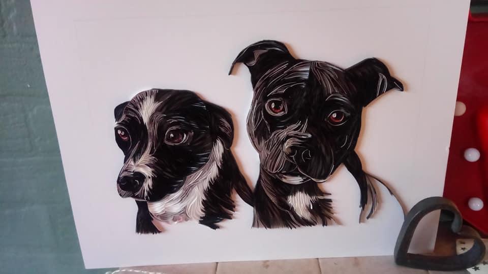 Wonderful Animal Paper Quilling Illustrations By Rebekah Jenkins 6
