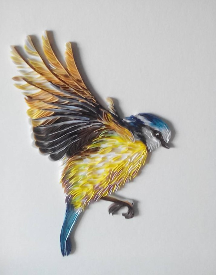 Wonderful Animal Paper Quilling Illustrations By Rebekah Jenkins 7