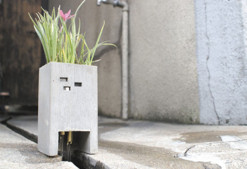 Adorable Planters Inspired By The Urban Environment By Nobuhiro Sato 10