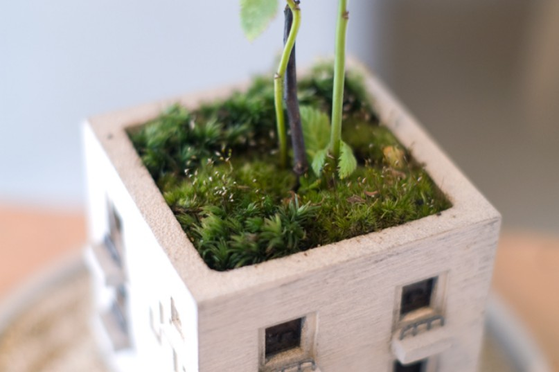 Adorable Planters Inspired By The Urban Environment By Nobuhiro Sato 5
