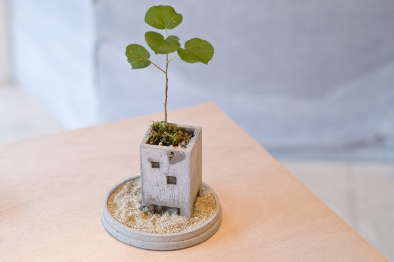 Adorable Planters Inspired By The Urban Environment By Nobuhiro Sato 9