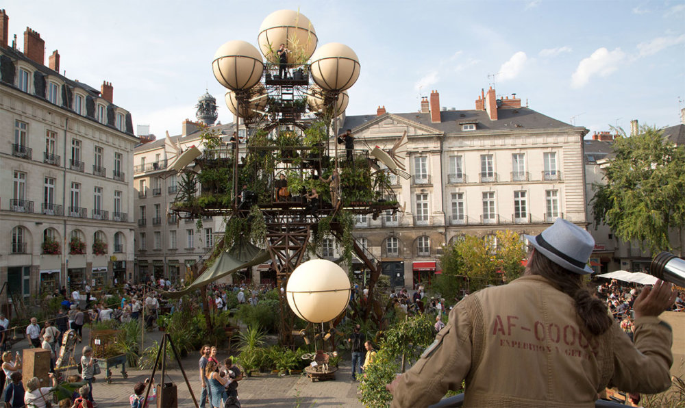 Aeroflorale Ii A Flying Greenhouse Installation By Francois Delaroziere 1 1