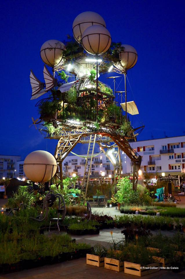 Aeroflorale Ii A Flying Greenhouse Installation By Francois Delaroziere 1 4