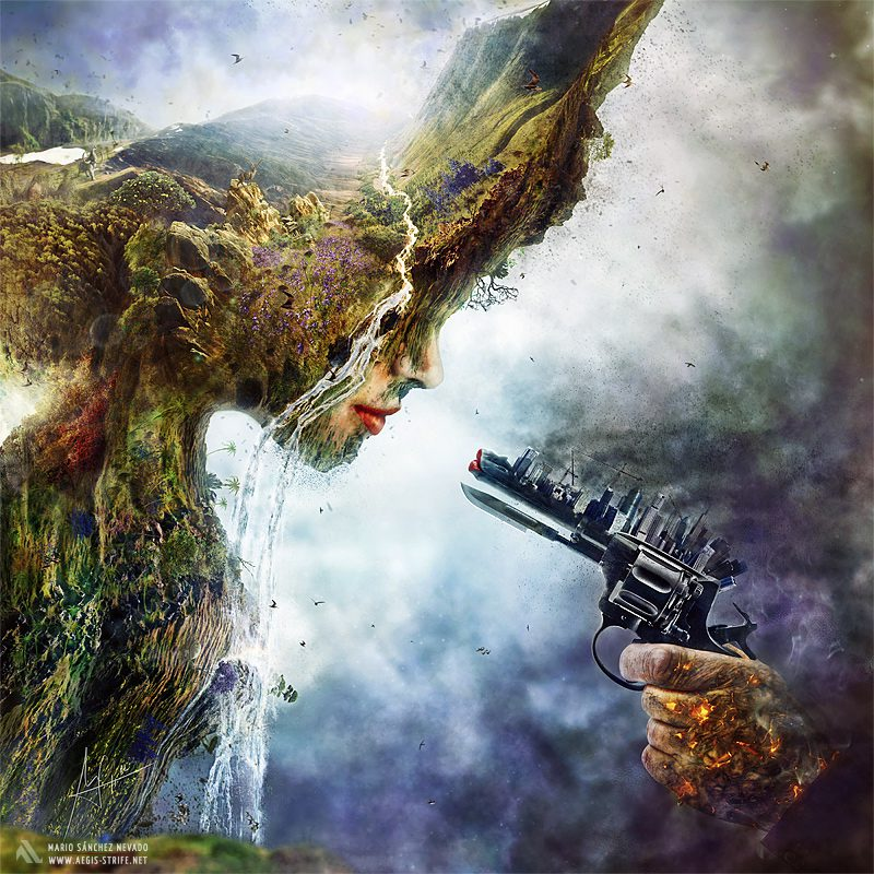 Amazing Allegorical Photo Manipulations By Mario Sanchez Nevado 1