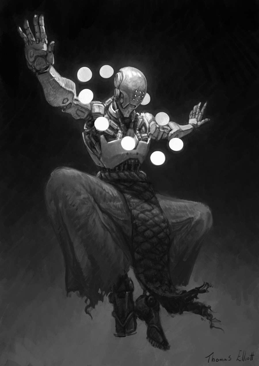 Amazing Cyberpunk Illustrations By Thomas Elliott 1