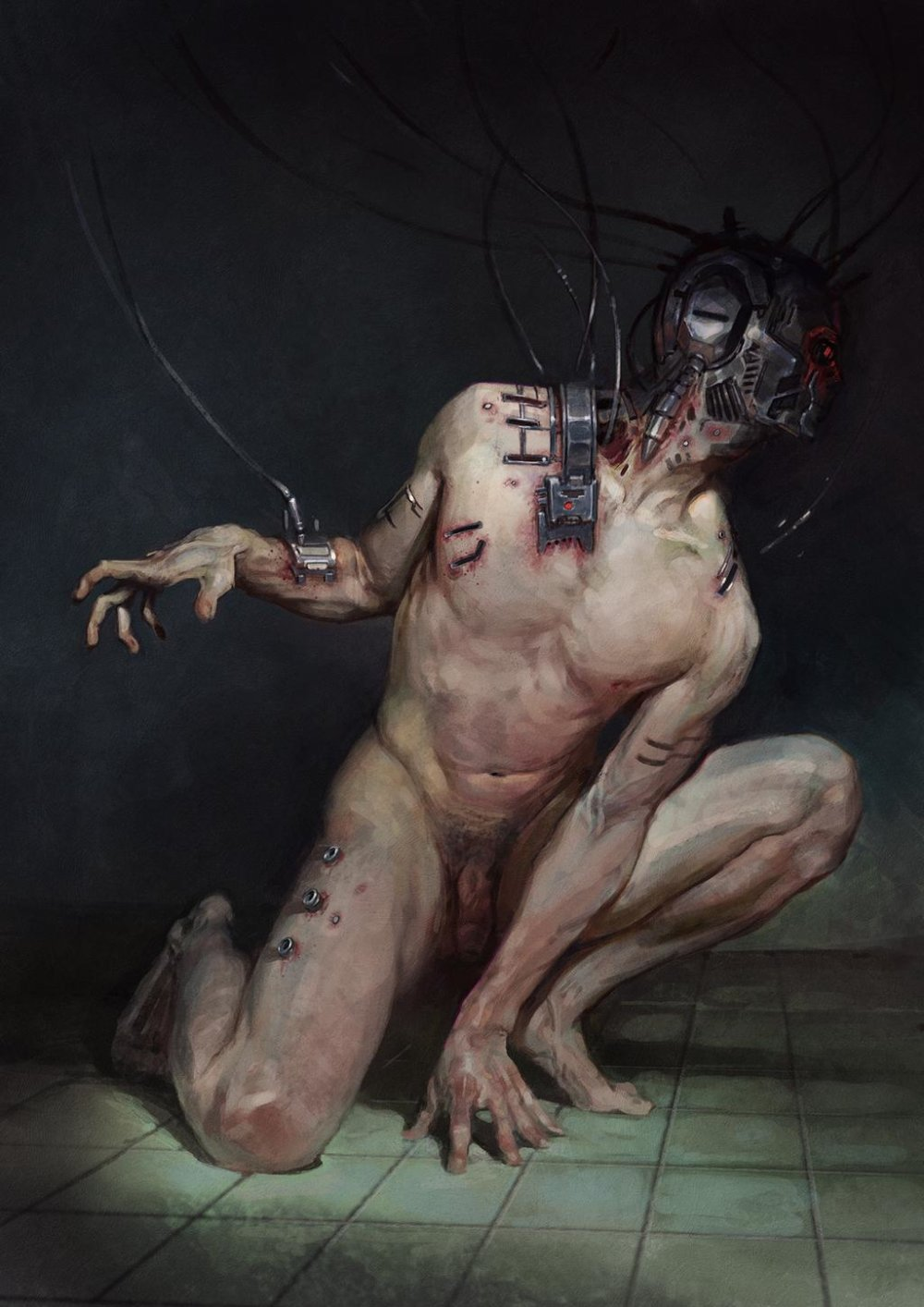 Amazing Cyberpunk Illustrations By Thomas Elliott 3