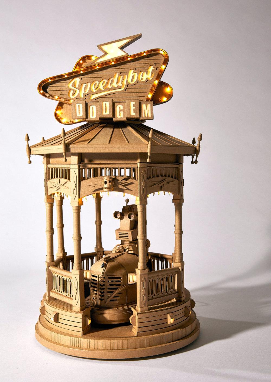 Amazingly Intricate Robot Cardboard Sculptures By Greg Olijnyk 9