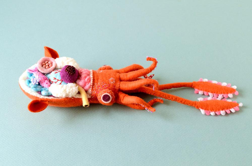 Anatomical Textile Sculptures By Hine Mizushima 1