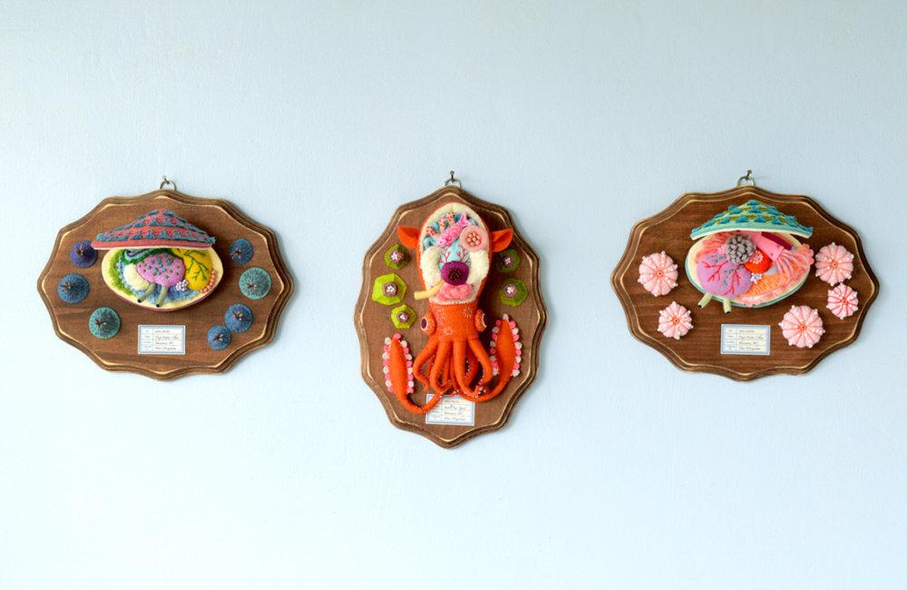Anatomical Textile Sculptures By Hine Mizushima 3
