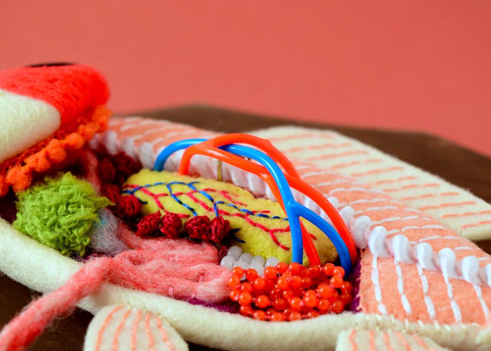 Anatomical Textile Sculptures By Hine Mizushima 4