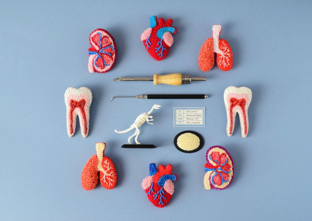 Anatomical Textile Sculptures By Hine Mizushima 6