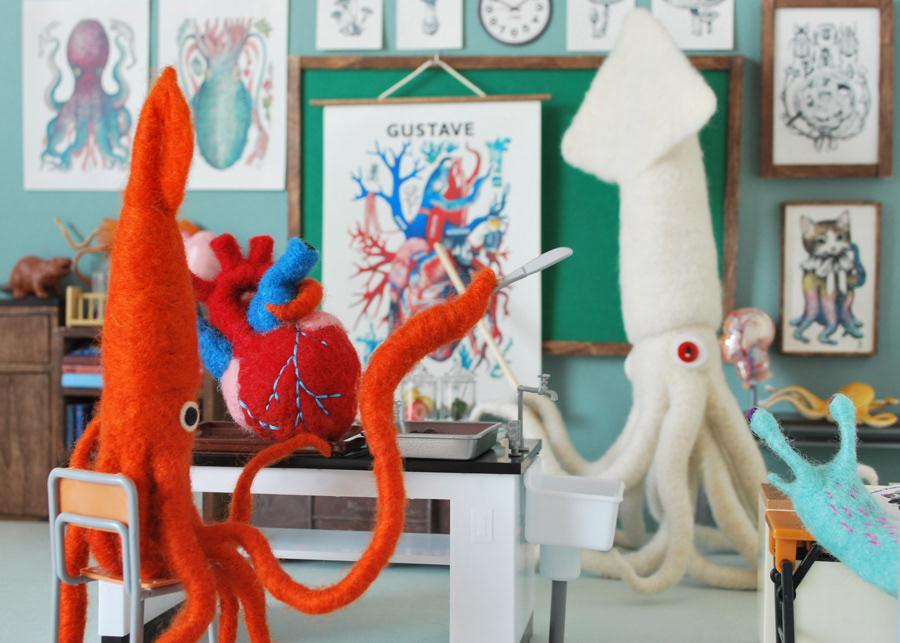 Anatomical Textile Sculptures By Hine Mizushima 9