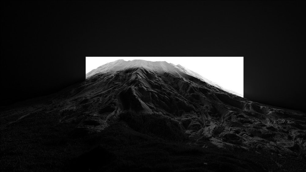 CHIAROSCURO I a mesmerizing black and white landscape photographic series by Thomas Paturet 1