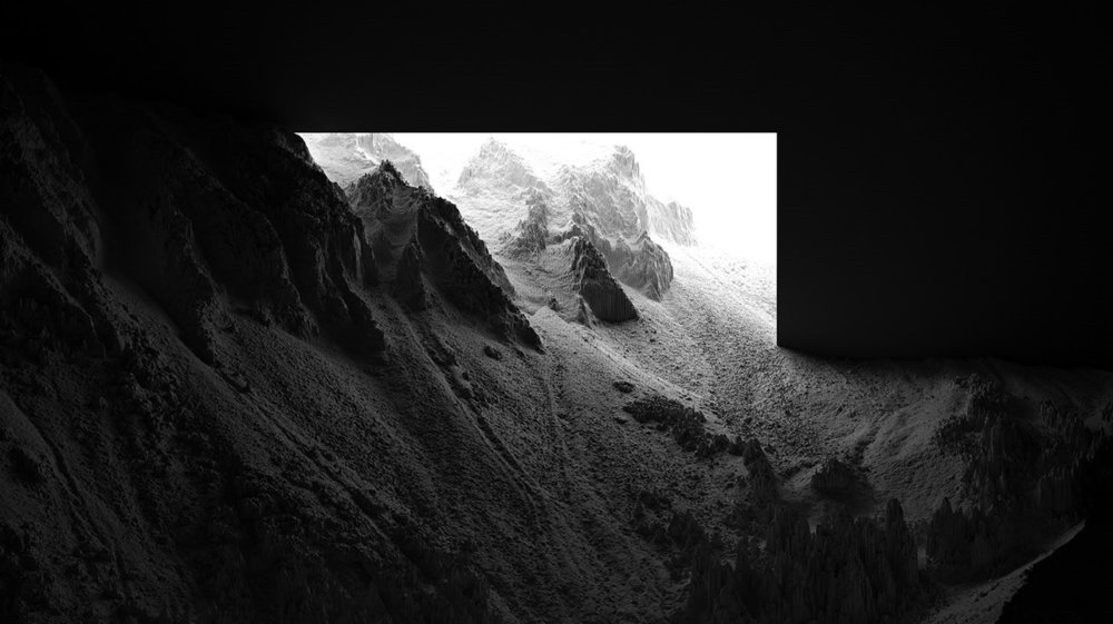 CHIAROSCURO I a mesmerizing black and white landscape photographic series by Thomas Paturet 3