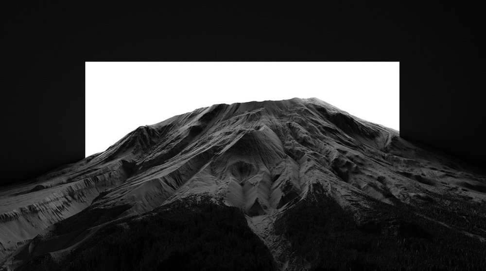 CHIAROSCURO I a mesmerizing black and white landscape photographic series by Thomas Paturet 4