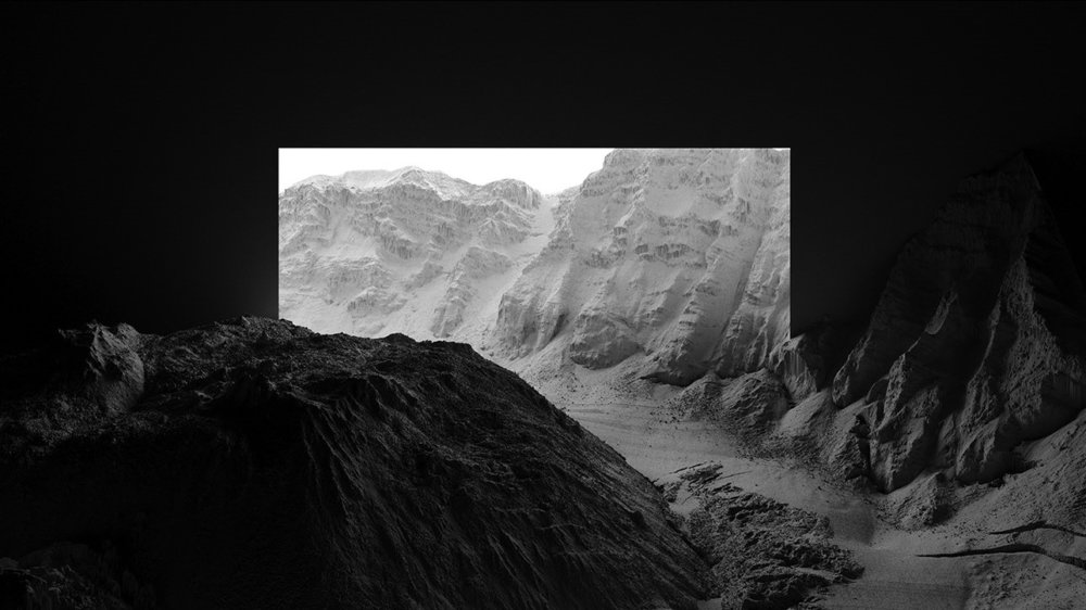 CHIAROSCURO I a mesmerizing black and white landscape photographic series by Thomas Paturet 6