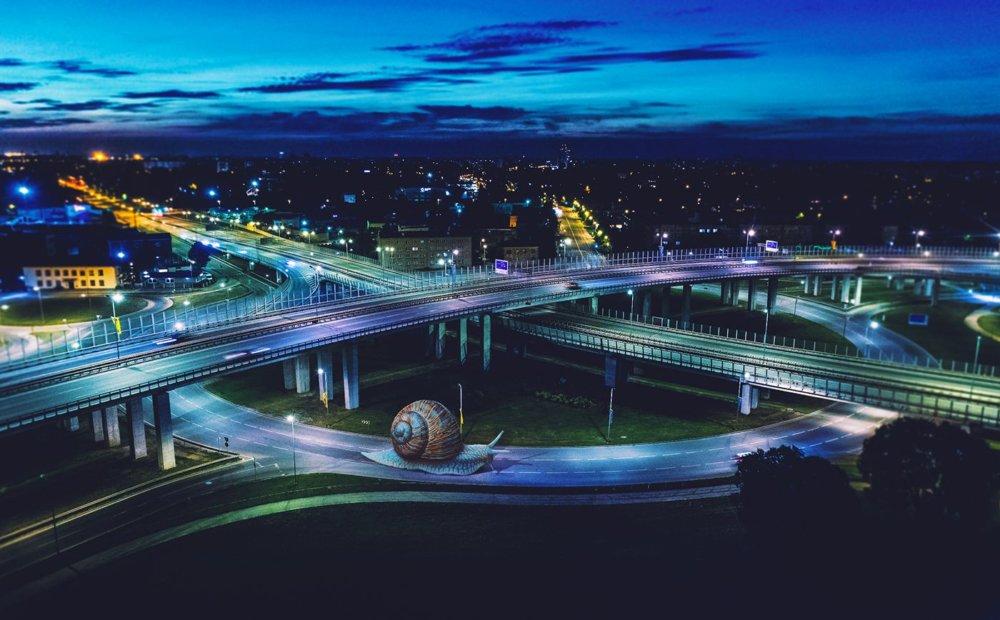 Cyberpunk Scenarios Of Wild Animals Roaming Around Nightly Cityscapes By Carlos Jimenez Varela 9