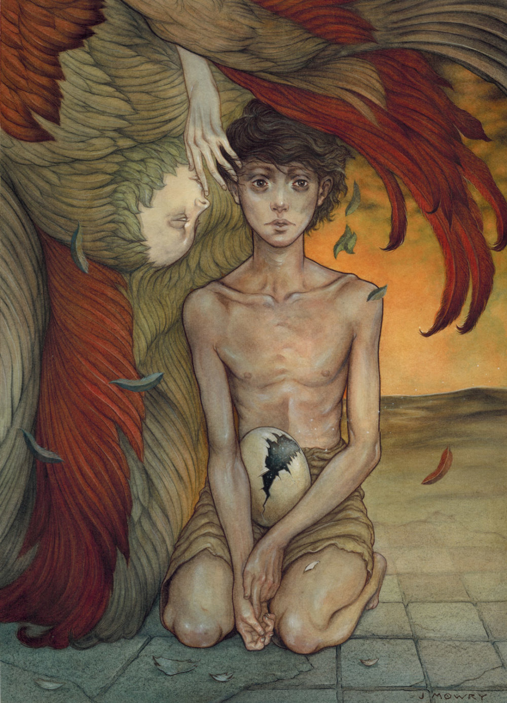 Dark And Thoughtful Surrealist Paintings By Jason Mowry 6