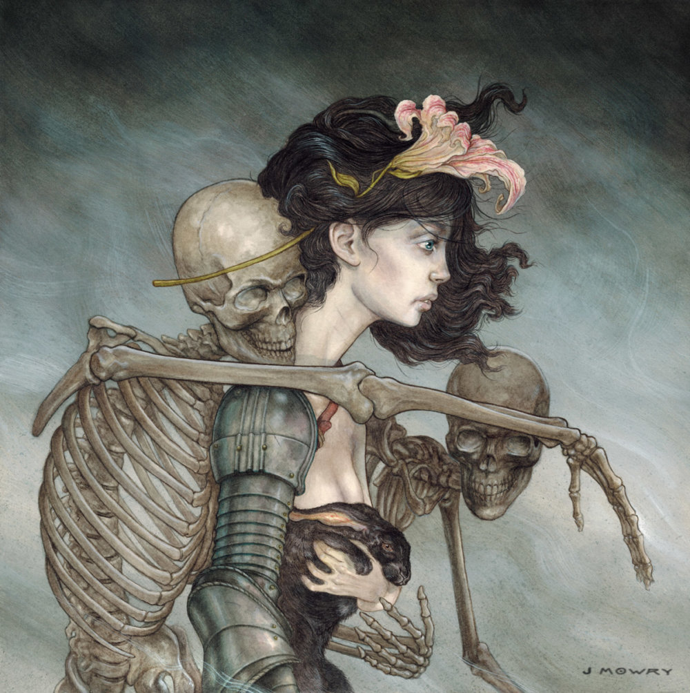 Dark And Thoughtful Surrealist Paintings By Jason Mowry 8