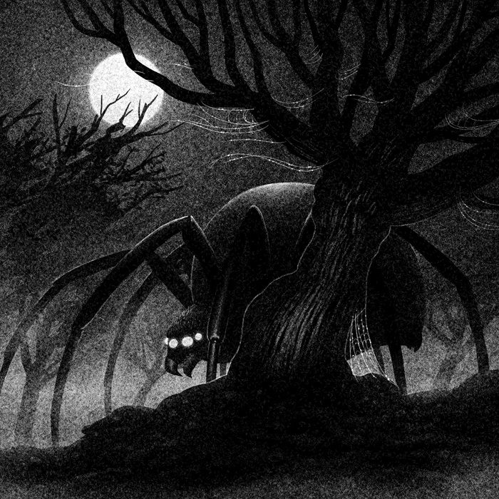 Drawlloween Formidable Obscure Black And White Illustrations By Brian Luong 10