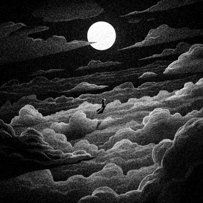 Drawlloween Formidable Obscure Black And White Illustrations By Brian Luong 5