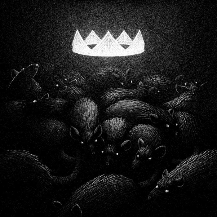 Drawlloween Formidable Obscure Black And White Illustrations By Brian Luong 7