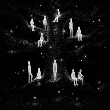 """""""Drawlloween"""": formidably obscure black and white illustrations by Brian Luong"""