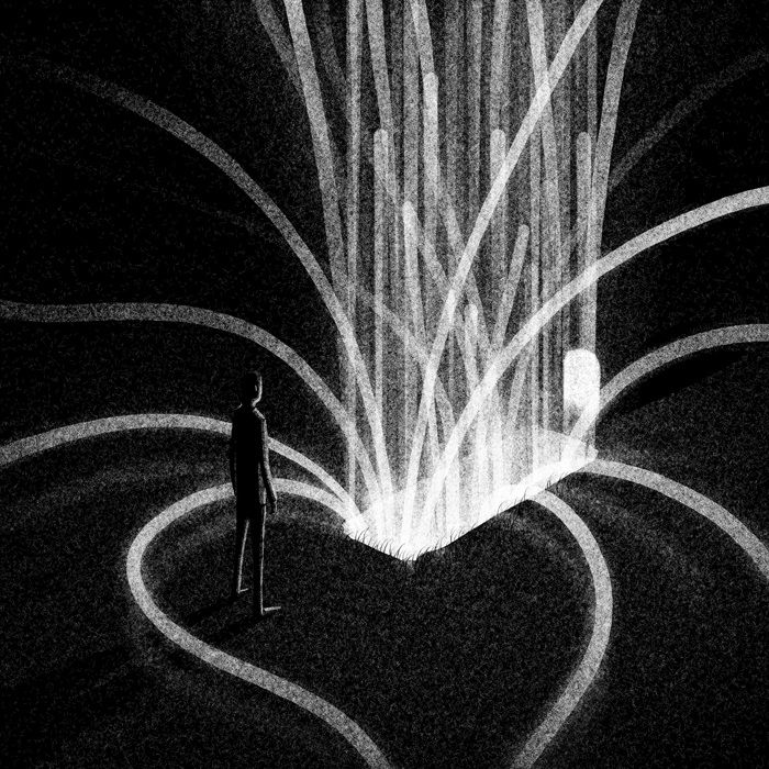 Drawlloween Formidable Obscure Black And White Illustrations By Brian Luong 9