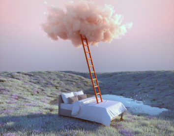 """Dreamlands"": amazing 3D digital art of dreamy surreal landscapes by Yomagick"
