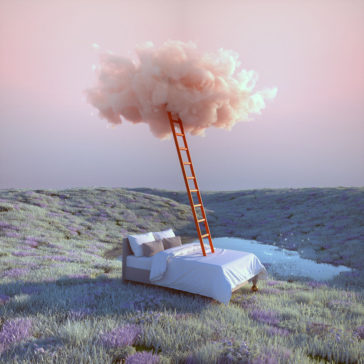 """""""Dreamlands"""": amazing 3D digital art of dreamy surreal landscapes by Yomagick"""