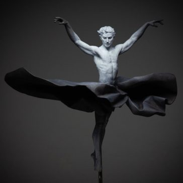 """""""Emotions in Bronze"""": fascinating figurative sculptures that capture the beauty of the human body in motion by  Coderch & Malavia"""