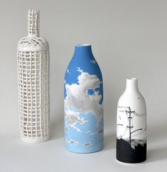 Enchanting Ceramic Vases Illustrated With Elegant Figures By Niharika Hukku 30