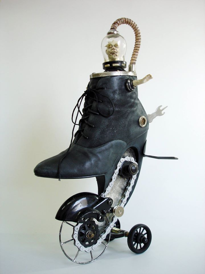 Exotic And Bizarre Shoe Sculptures By Costa Magarakis 10