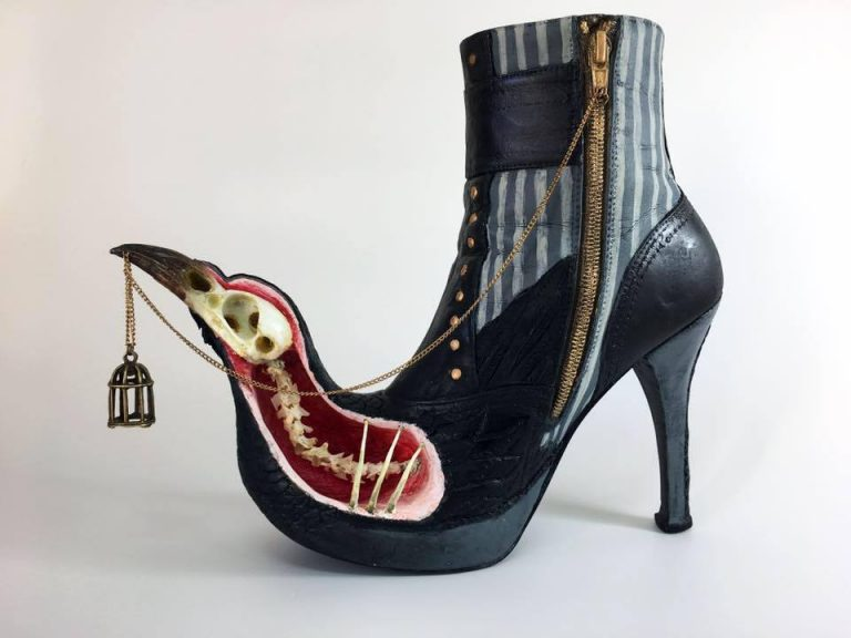 Exotic And Bizarre Shoe Sculptures By Costa Magarakis 3