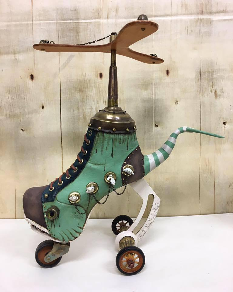 Exotic And Bizarre Shoe Sculptures By Costa Magarakis 4