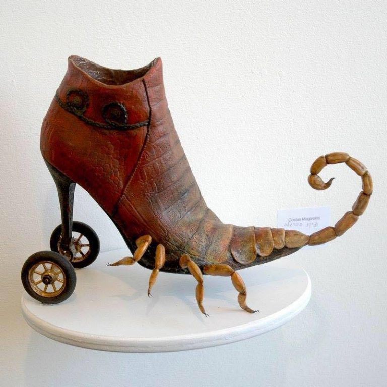 Exotic And Bizarre Shoe Sculptures By Costa Magarakis 5