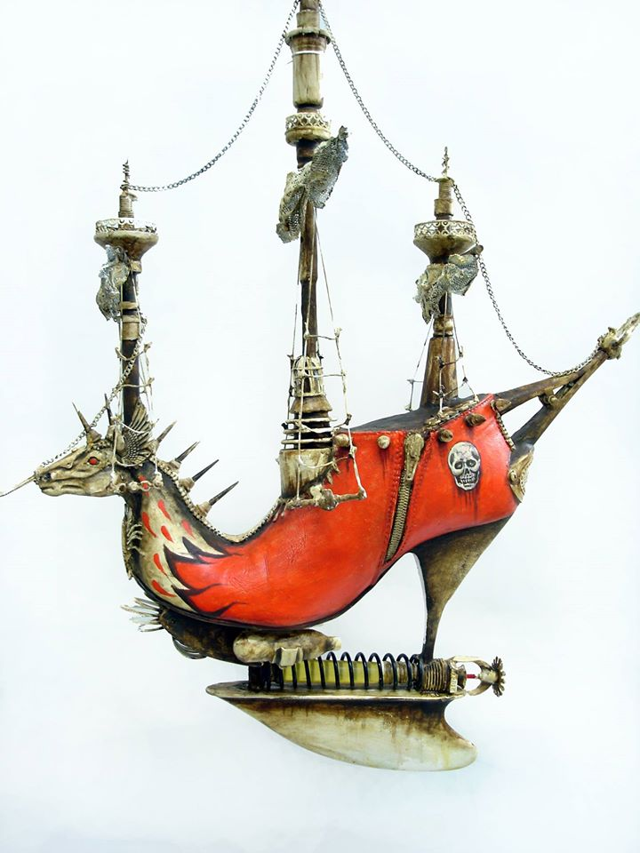 Exotic And Bizarre Shoe Sculptures By Costa Magarakis 6